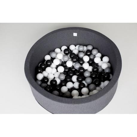 Basen suchy 150 szt. piłeczek, różne kolory
