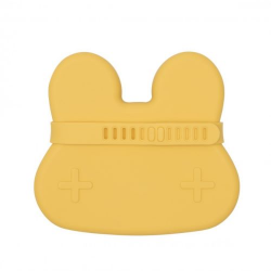 We Might Be Tiny Closed Silicone Rabbit Yellow