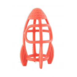 B-Silicone teether racket