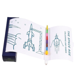 Coloring page roll, Cosmos, Rex London