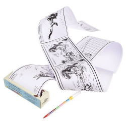 Coloring page roll, Dinosaurs, Rex London