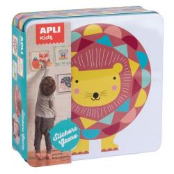 Creative set with stickers Apli Kids - Lion