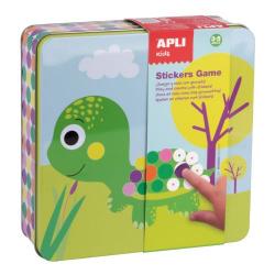 Creative set with stickers Apli Kids - Animals