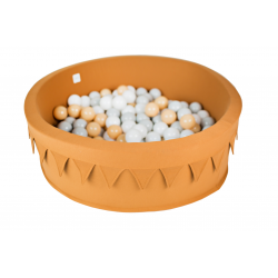 Dry pool with garland 200 balls