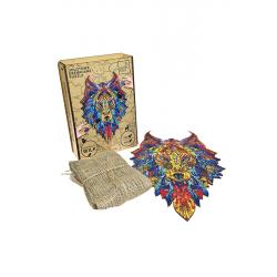 Wow Puzzle- drewniane puzzle w kształcie sowy